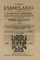 Juan Eusebio Nieremberg (1647) Vidas ejemplares (tomo 4).png