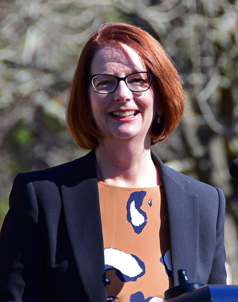 Julia Gillard at Faulconbridge (36190455175) (cropped)