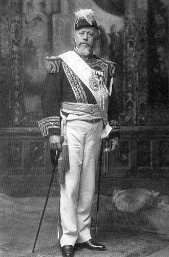 Julio Argentino Roca - Julio Argentino Roca with the presidential band, in his second term (1898-1904).