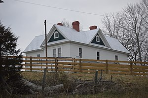 National Register of Historic Places listings in Bland County, Virginia - Image: Junius Marcellus Updyke Farmhouse