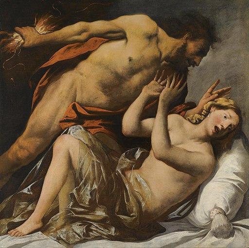 Jupiter and Semele by Pietro della Vecchia