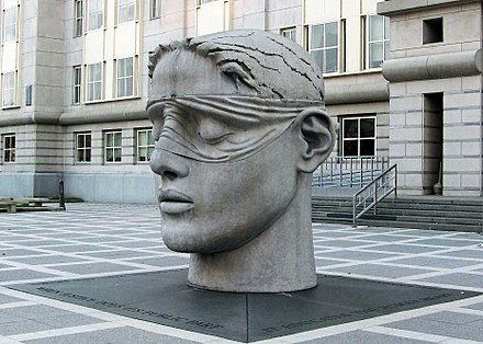 Justice, near Federal Building Justice Sculpture, Newark, NJ.jpg