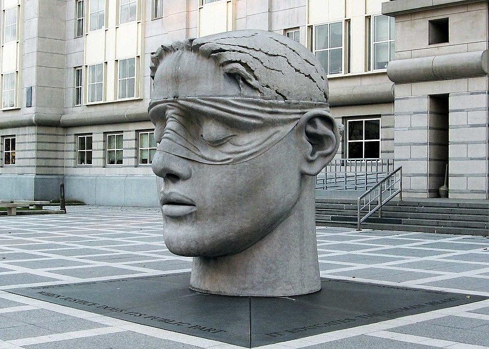 Justice Sculpture, Newark, NJ