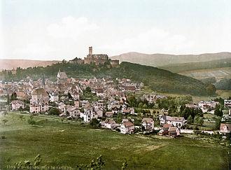 Königstein im Taunus - Königstein in the late 19th century