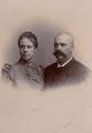 KITLV - 181459 - Stafhell & Kleingrothe - Medan-Deli-Sumatra's O.K. - Portrait of a European couple in Medan, Sumatra - circa 1895.tiff