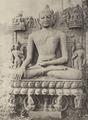 KITLV 88133 - Unknown - Buddha sculpture, Rajaona in British India - 1897.tif