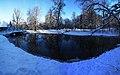 Kaļķugravas dzirnavdīķis - panoramio.jpg