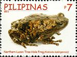 Kaloula kalingensis 2011 stamp of the Philippines.jpg