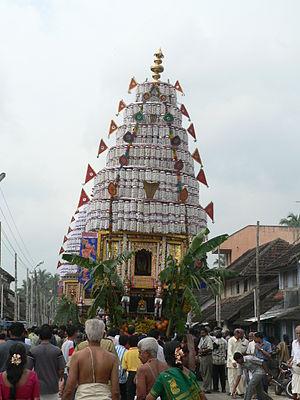 Kalpathi Ratholsavam - Image: Kalpathy Car Festival