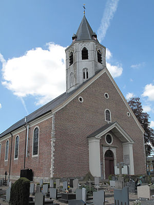 Kaprijke - Image: Kaprijke, parochiekerk Onze Lieve Vrouw Hemelvaart oeg 44747 foto 9 2013 05 05 13.44