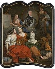 Karel van Lotharingen als beschermheer van de Kunsten