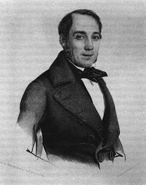 Karl Mathy - Mathy in an 1842 lithography