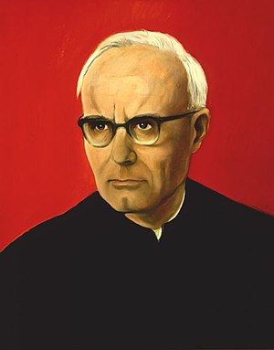 Karl Rahner - Portrait of Rahner by L. M. Cremer