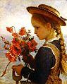 Karl Wilhelm Bauerle - Mädchen mit Mohnblüten.jpg