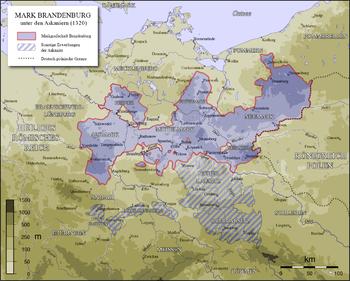 The Mark Brandenburg after the Peace of Templin