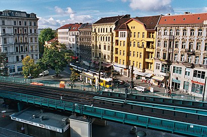 How to get to Schönhauser Allee with public transit - About the place