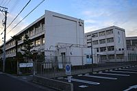 Kasugai City Chita Junior High School 20161016-02.jpg