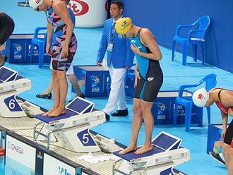 Swimming at the 2015 World Aquatics Championships – Women's 100 metre butterfly - Sarah Sjöström