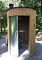 Kazuba KL2 - Public dry toilet at Seignosse Golf Court, France.jpg