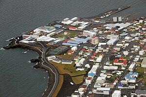 Keflavík - August 2009 aerial view