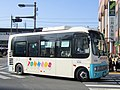 Keisei Town Bus T061 at Kameari Station.jpg