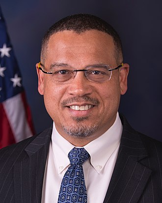 Deputy Chair of the Democratic National Committee - Image: Keith Ellison portrait (cropped)