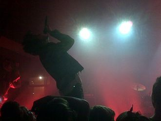 Kill Hannah - Mat Devine at Crofoot in Pontiac, Michigan on August 19, 2008.