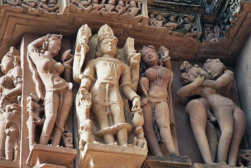 Esculturas Eróticas de Khajuraho - India