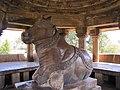 Khajuraho India, Nandi Temple - Nandi.JPG