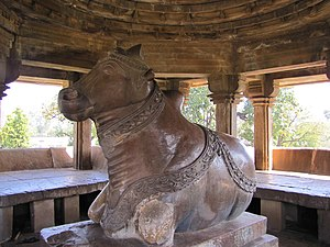 Nandi Temple, Khajuraho India - Image: Khajuraho India, Nandi Temple Nandi