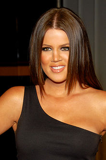 Khloe Kardashian - the cute, friendly, charming, spoiled,  tv-personality  with German, Irish, Scottish, Armenian, English, Dutch,  roots in 2017