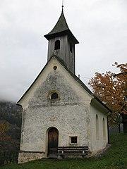Kienburg, Hofkapelle hl. Josef