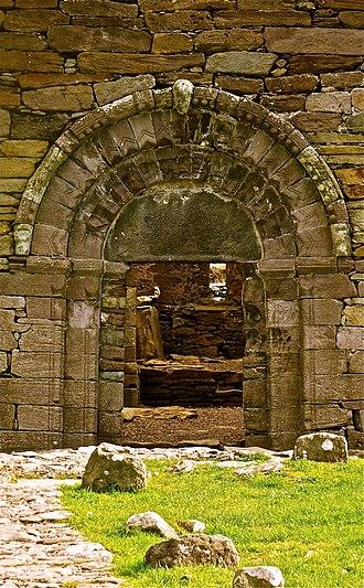 Kilmalkedar - Image: Kilmalkedar church, Co. Kerry, Ireland