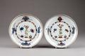 Kinesiska porslins fat - Hallwylska museet - 95686.tif