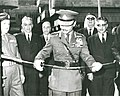 King Hussein of Jordan, Central Bank of Jordan opening Ceremony, 1964.jpg