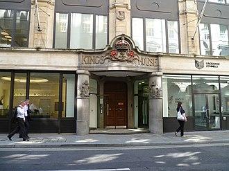 Ashtead Group - Ashtead's base at King's House in London