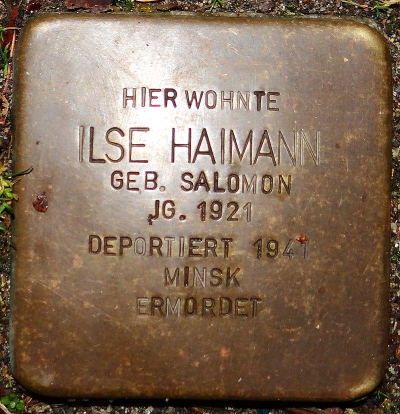 Kirchberg im Hunsrück Stolperstein Kappeler Straße 3 Ilse Haimann.jpg