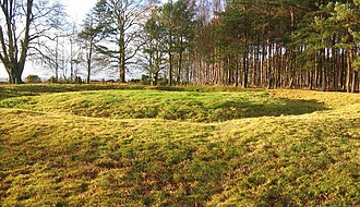 Gask Ridge - Site of a Roman signal tower at Kirkhill