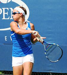 Kirsten Flipkens at the 2010 US Open 02.jpg