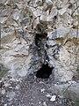 Kis-Sváb Hill Protection Area. Small cave. - Budapest.JPG