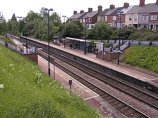 Sheffield–Lincoln line railway line in England