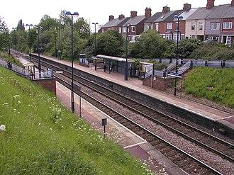 Sheffield–Lincoln line - Kiveton Bridge station