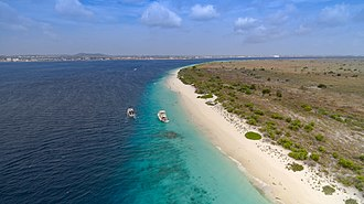 Bonaire - Coast of Klein Bonaire.