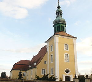 Klitten - Church of the Evangelical Church Berlin-Brandenburg-Silesian Upper Lusatia