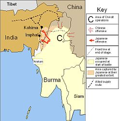Battle Of Imphal Wikipedia