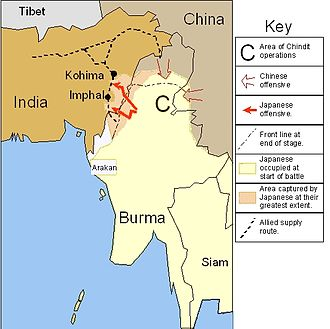 Battle of Imphal - Imphal and Kohima Campaign