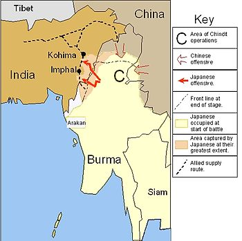 Burma campaign wikipedia the japanese invasion of india 1944edit gumiabroncs Images