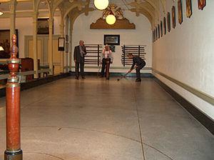 Kolven - A Kolf court in St. Eloy's Hospice in Utrecht