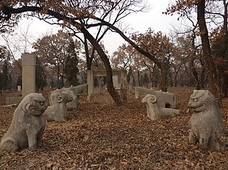 Spirit way - Spirit way of Kong Zhengan in the Cemetery of Confucius