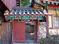 Korea-Busan-Beomeosa 6225-07 monk's gate.JPG